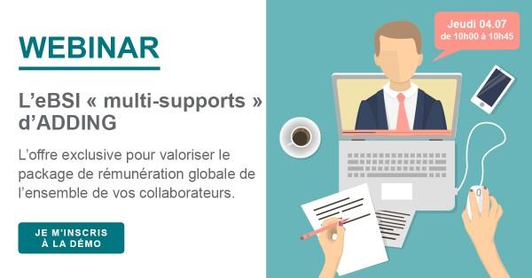 Invitation Webinar eBSI grands comptes modifications ET 2